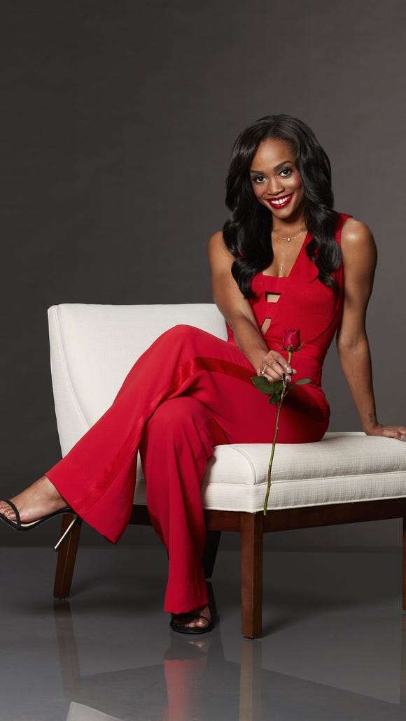 Rachel Lindsay in ABC's 'The Bachelorette.' which returned