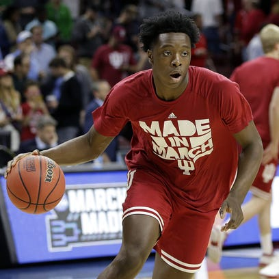 IU practice primer: Big Ten champs have holes to fill