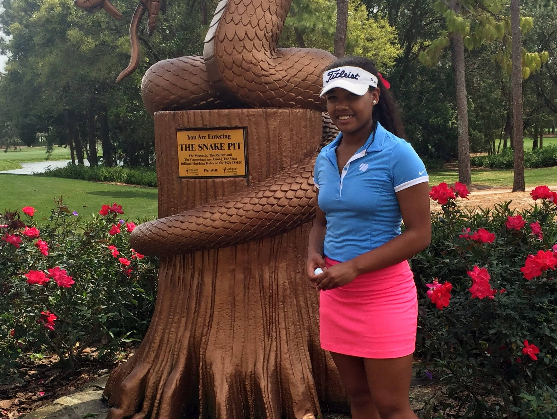 Kyra Cox spent 10 days in Florida, playing an AJGA event and prepping for the Drive, Chip & Putt championship at Augusta National.