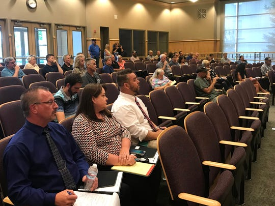 Twenty-two people spoke to the Shasta County Board of Supervisors about proposed changes to the county Resource Management Agency during a 2-hour meeting Wednesday.