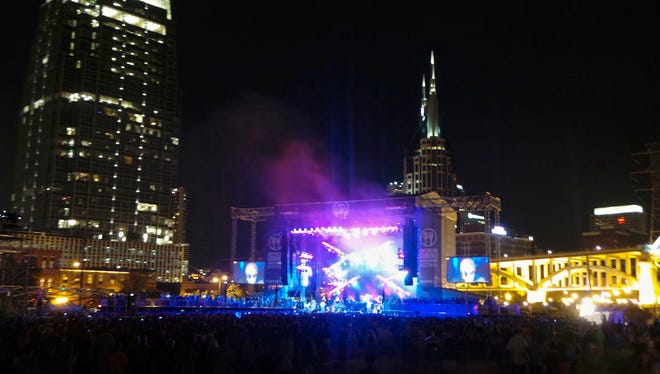 The Southern Ground Music & Food Festival was set against Nashville's skyline.