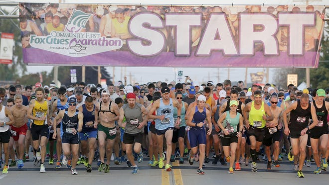 The Fox Cities Marathon took place Sept. 24 on a course through Menasha, Appleton, Darboy, Kimberly, Combined Locks and finishing in Neenah.