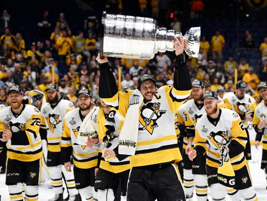 USP NHL: STANLEY CUP FINAL-PITTSBURGH PENGUINS AT S HKN NSH PIT USA TN