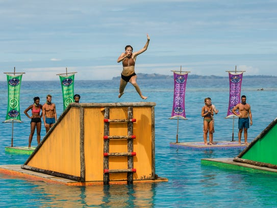 "Kellyn Bechtold on the seventh episode of ""Survivor:"