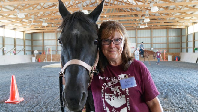Anna Klinke, 63, was named Volunteer of the Year for her work at Free S.P.I.R.I.T. Riders.