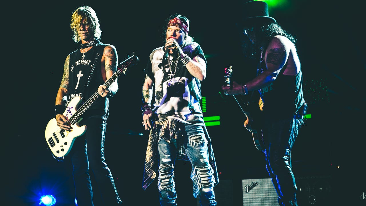 Guns N' Roses has been busy lately with shows in Las Vegas, Los Angeles, and a double weekend at Coachella, you would think the rock band would be worn out but they are just getting warmed up.