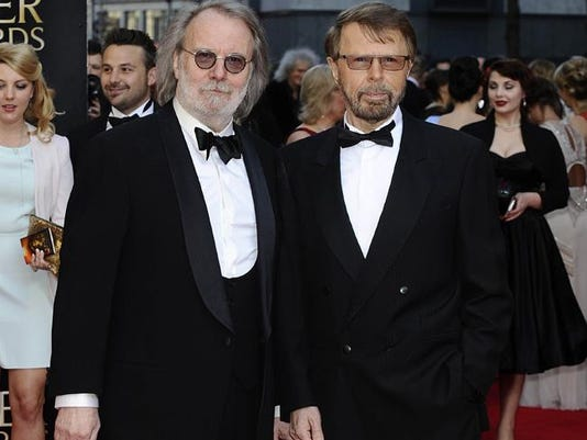 ABBA's Bjorn Ulvaeus and Benny Andersson