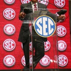 LSU's Orgeron checks in at No. 8 in SEC coaches rankings — Fisher is No. 2, Smart at No. 6