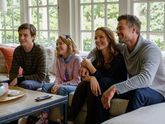 "Happy family: It's the Spier clan in ""Love, Simon:"""