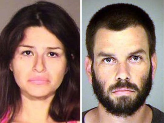 Mayra Chavez, left; Omar Lopez, right