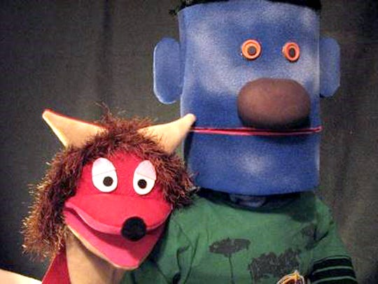 "Puppeteer Adam Swartz will present ""Alice and Jimmy's"
