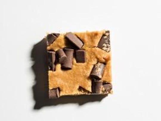 Kids will love the Pure Genius chocolate chunk blondies.