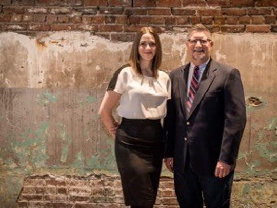 Katy and Mark Nelson, the daughter and father team that own Scenic Route Bakery, are creating a new company that will manage the historic Younkers Tea Room.