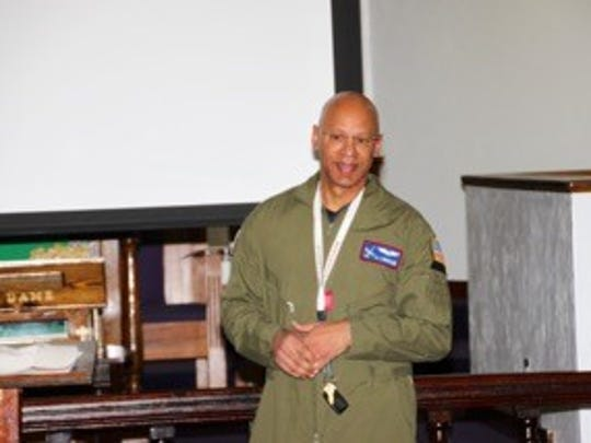 Dr. A.J. Brickler, III, a pilot and local OBGYN physician