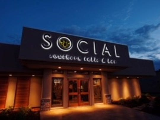 Social is located on Johnston Street.