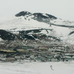 McMurdo Station, nestled at the edge of McMurdo Sound in the Ross Sea, is crucial to the study of climate change and other global environmental issues.