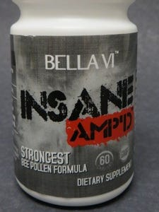 Bella Vi AMP'D UP and Bella Vi INSANE AMP'D UP were sold by a Corpus Christi business between 2013-14. The owner of the business pleaded guilty May 15, 2017, on several federal counts of misbranding and possession of a controlled substance.