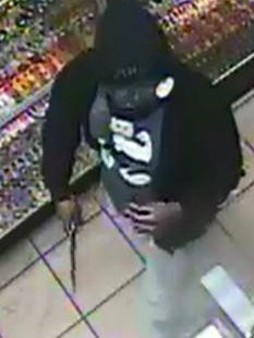 Police are seeking the public's help in identifying a man who robbed a Laveen smoke shop at knife-point Sunday.