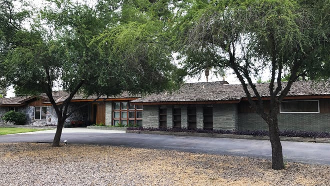 Built in 1955, the home has had only two owners since then. Insurance and real estate agent Kenneth S. Clark built the property and lived in it with his wife until they passed away. Nearby Clark Park was named after him.