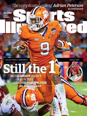 Clemson running back Wayne Gallman is featured on this week's regional cover of Sports Illustrated ahead of the College Football Playoff championship game.