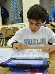 Richard A. Shields Elementary School third grader Keenan
