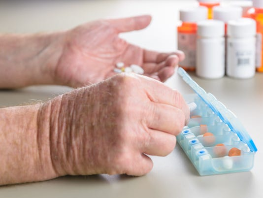 Difficulty managing medications