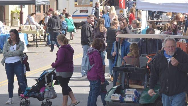 Vendors will line the streets of Redwood Falls for Fall Festival 2020.