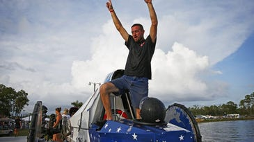 Swamp buggies: Racer Tyler Johns of Naples loses part of arm in airboat accident
