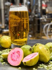 Dogfish Head's Firefly Ale '18, brewed with guava and coconut flower nectar, will be served at The Brewery.