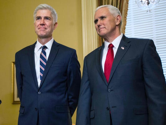 Pence Gorsuch