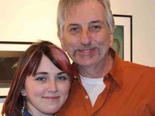 Robert Evans, 65, with his daughter, Lauren Evans. The Belleville man is recovering at Hackensack University Medical Center following a Jan. 8, 2018 car crash in Rutherford.