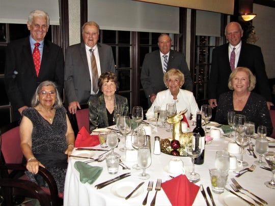 Joan and Dennis Pidherny, Pat and Don LaPato, Kathy
