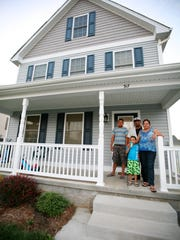 Lilian Escobar and José Mendoza live with their chidren Brandon Mendoza Escobar, 4, and Dorian Mendoza Escobar, 16, in Waynesboro in a house they bought from Homes by Nexus, one of the branches of Nexus Services out of Verona.