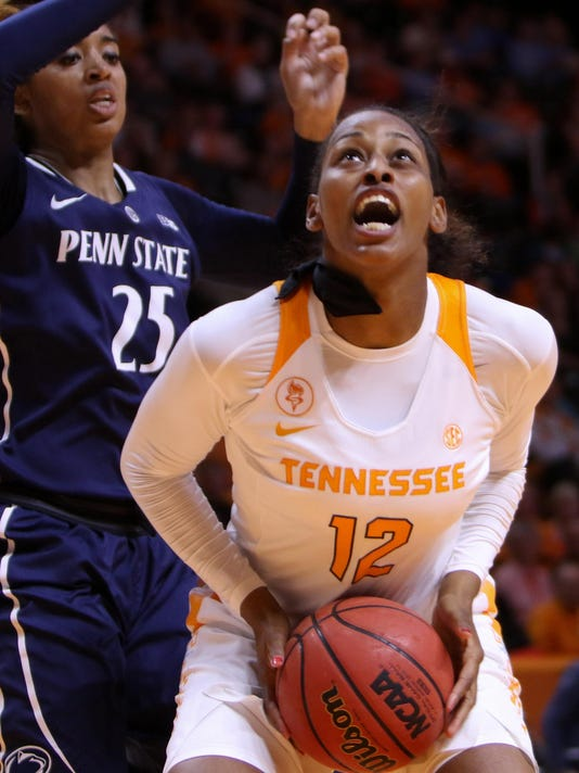 NCAA Womens Basketball: Penn State at Tennessee