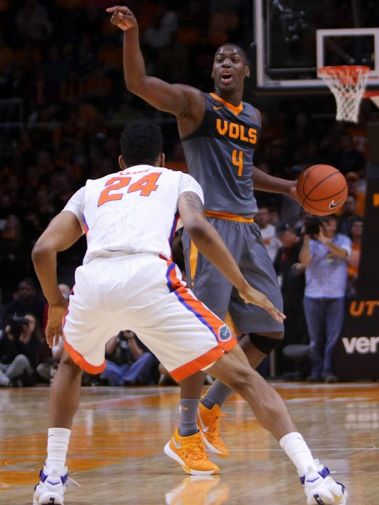 NCAA Basketball: Florida at Tennessee