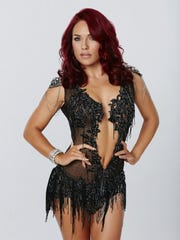 Sharna Burgess of 'Dancing with the Stars.'