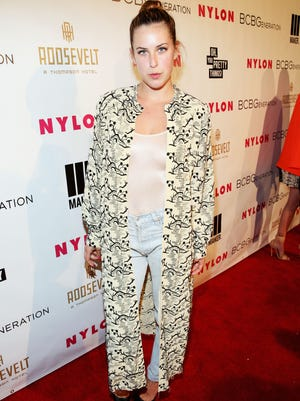 HOLLYWOOD, CA - MAY 08:  Actress Scout Willis attends the Nylon + BCBGeneration May Young Hollywood Party at Hollywood Roosevelt Hotel on May 8, 2014 in Hollywood, California.  (Photo by Jonathan Leibson/Getty Images for Nylon) ORG XMIT: 489069289 ORIG FILE ID: 488882795