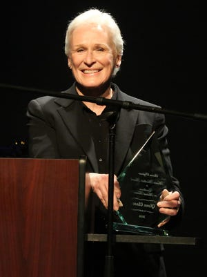 Glenn Close was awarded the inaugural Marvin Hamlisch Award for Excellence in Musical Theatre during Sharon Playhouse's Season Benefit Gala May 21.