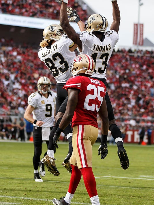 New Orleans Saints v San Francisco 49ers