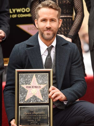 HOLLYWOOD, CA - DECEMBER 15: Actor Ryan Reynolds attends a ceremony honoring him with a star on the Hollywood Walk of Fame on December 15, 2016 in Hollywood, California. (Photo by Matt Winkelmeyer/Getty Images)