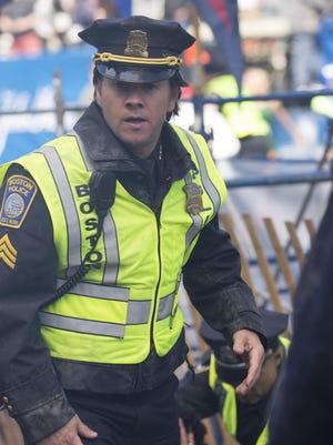 "Mark Wahlberg in ""Patriot's Day."""