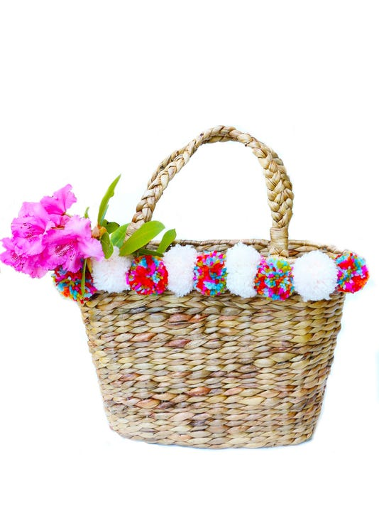 Hobbies: Festive pom-pom bags perfect for summer(