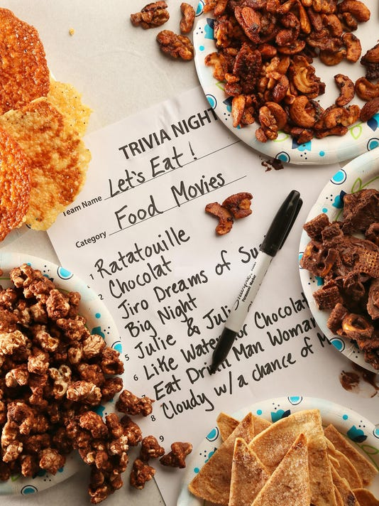 Snacks will make your trivia night a winner