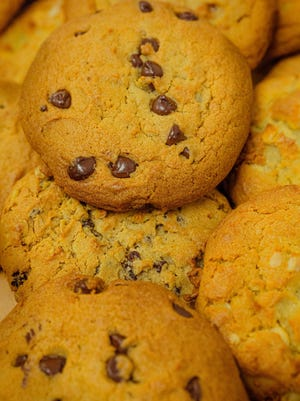Chef Nicole Burgess developed a guilt-free chocolate chip cookie.
