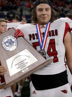 Pottsboro's Silas Barr and the Cardinals are coming off the best season in school history as the 3A Division I state runner-up.