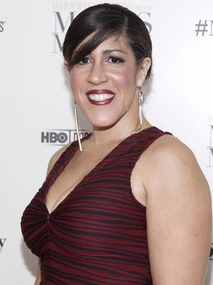 """Rain Pryor arrives at the special screening of HBO's Documentary """"Whoopi Goldberg presents Moms Mabley"""" at The Apollo Theater on Thursday, Nov. 7, 2013, in New York."""