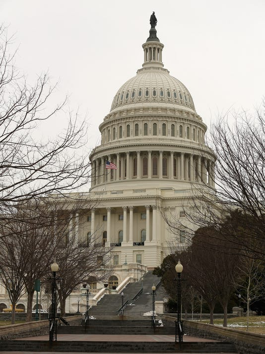 Preparations Continue For Restoration Of U.S. Capitol Dome