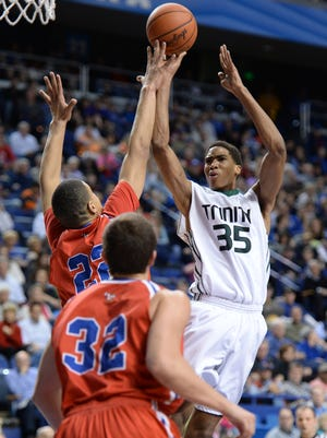 Trinity center Ray Spalding is among power forwards/centers being sought.