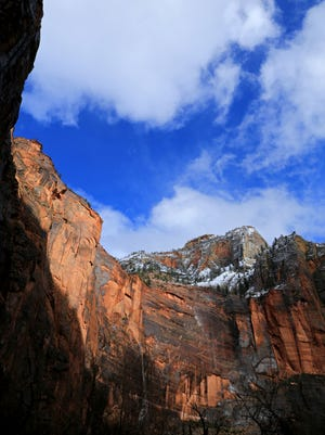 A nonprofit will pay to keep Zion National Park open with skeleton staffing and services Jan.1-5, 2018, during the partial government shutdown, a Utah tourism official said Dec. 28, 2018.