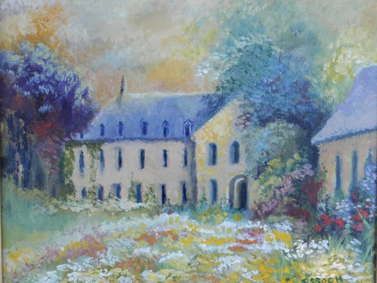 Landscape painting by Barbara Essock from Madison